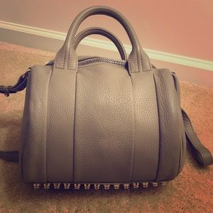 Alexander Wang Rockie Satchel Color: Oyster
